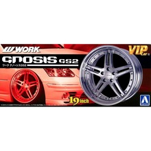 OHS Aoshima 00906 1/24 Wheel Hub Work Gnosis GS2 For Upgrade Detail Scale Assembly Car Model Building Kits
