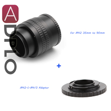 Buy M42 Lens Adjustable Focusing Helicoid Macro Tube Adapter 35mm 90mm + Lens Adapter Suit M42 C Mount Lens M4/3 camera for $28.37 in AliExpress store