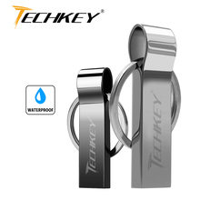 New Brand Waterproof Super USB Flash Drive 64GB 32GB 16GB 8GB Pen Drive Flash metal Storage Flash Drive Memory Stick cel usb(China)