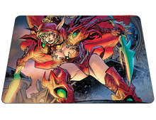 hot Hearthstone mouse pad Natural rubber mousepads valeera sanguinar gaming mouse pad gamer personalized pad mouse keyboard pad