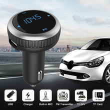 Car FM Transmitter Hands-free with MIC / USB Charger / Micro SD Card Slot / Digital Display