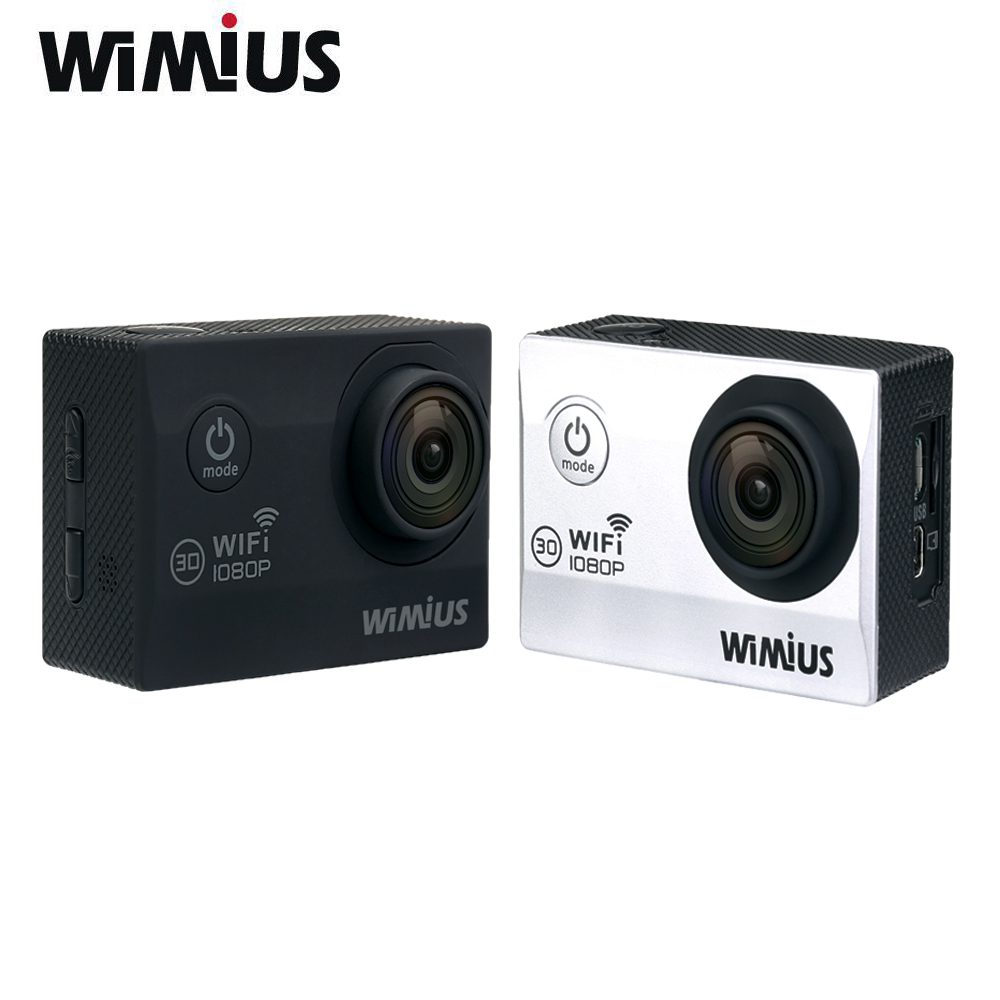 Wimius 2.0 WiFi Sport Action Camera Full HD 1080P 30fps Helmet Cam 170D Wide Angle DVR Camcorder 30M Waterproof Cameras Deporte<br><br>Aliexpress