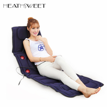 Healthsweet Electric Vibrator Body Massager Mattress Far-Infrared Heating Therapy Neck Back Massage Relaxation Bed Health Care(China)