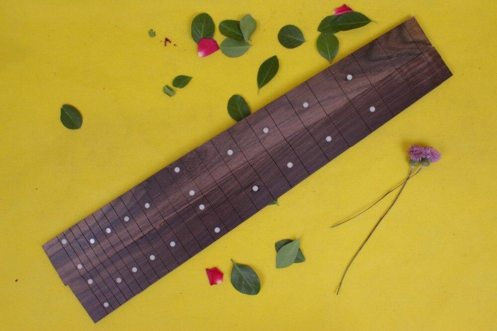 Guitar Accessories  1  x  25.5electric   Guitar Fretboard electric guitar ROSE   Wood Fretboard Parts 00-42# inlay<br>
