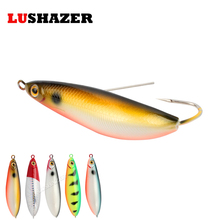 LUSHAZER Fish vib 20g hard bait iscas artificiais para pesca carp lures bass fishing jerkbait spoon bait fishing tackles
