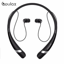 COULAX Bluetooth Headset Wireless Headphones for mobile phone with Microphone Sport Stereo Bluetooth Earphone for iPhone Android