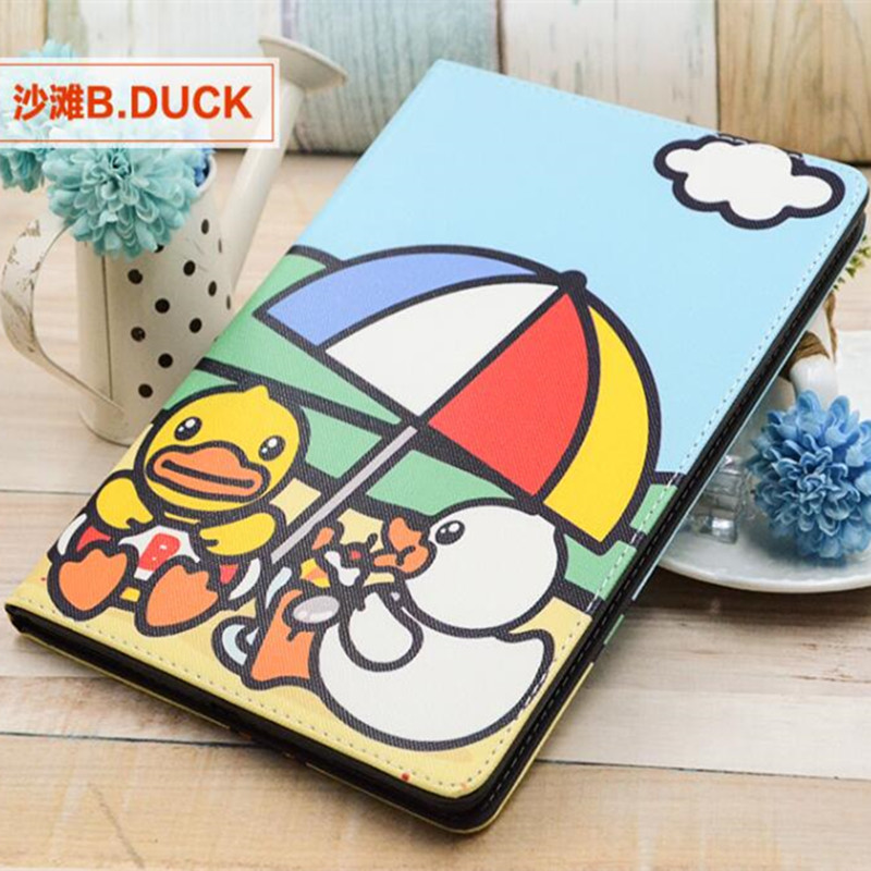 Cute Cartoon Yellow Duck For Ipad Pro 9.7inch Stand Tablet Case Cover For Apple iPad Pro 9.7 PU Leather Case Cover Fundas Coque<br><br>Aliexpress