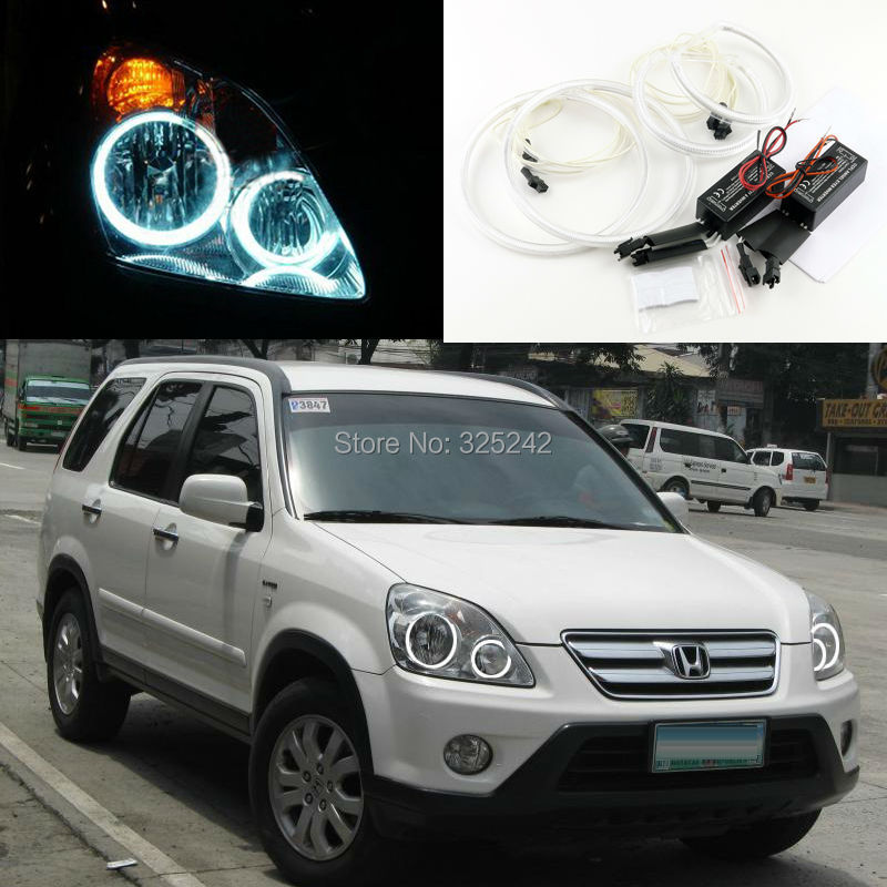 For Honda CR-V CRV 2005 2006 Excellent Ultra bright headlight illumination CCFL Angel Eyes kit Halo Ring angel eyes kit<br><br>Aliexpress