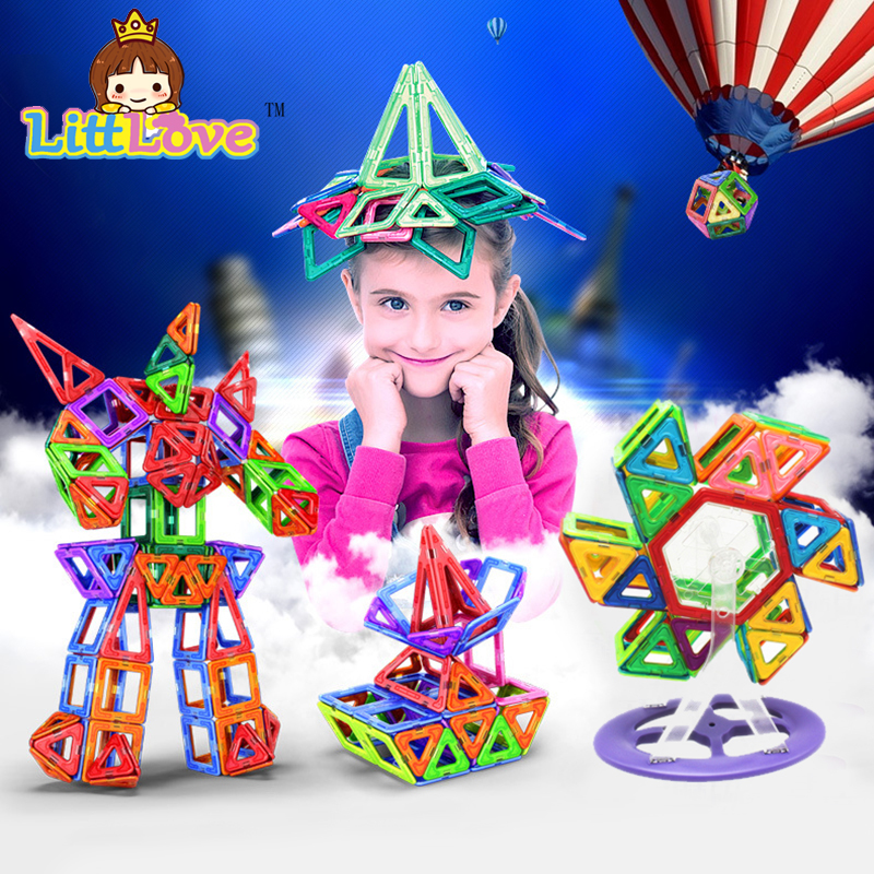 2017 Standard Size Magnetic Designer Toy Kids Educ...