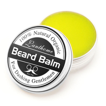 Top Quality Small Size Natural Beard Conditioner Beard Balm For Beard Growth And Organic Moustache Wax For Beard Smooth Styling(China)