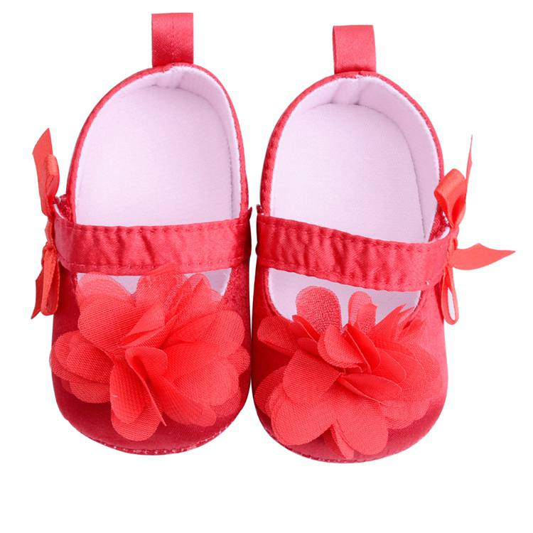 Flower Spring / Autumn Infant Baby Shoes Moccasins Newborn Girls Booties for Newborn 3 Color Available 0-18 Months 13