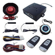 Universal Rolling Code PKE Car Alarm System With Car Engine Start Stop Auto Lock & Unlock(China)
