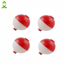 JSM 4 pcs/lot 1 inch size Fishing Bobber Buoy Float Sea Fishing floats plastic Floats for fishing vissen dobbers