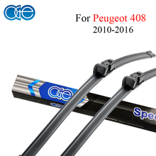 Oge Wiper Blades For Peugeot 408 2010 2011 2012 2013 2014 2015 2016 High-Quality Rubber Car Accessories(China)