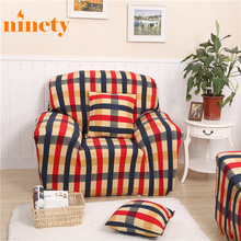 Plaid Printed Sofa Covers Elastic Sofa Couch Cover Case On The Sofa Evroknizhka Blankets Case On The Sofa Elastic Universal