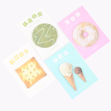 1PC Afternoon Tea Time Memo Pad Sticky Notes Memo Notepad School Office Supply Escolar Papelaria Gift Stationery