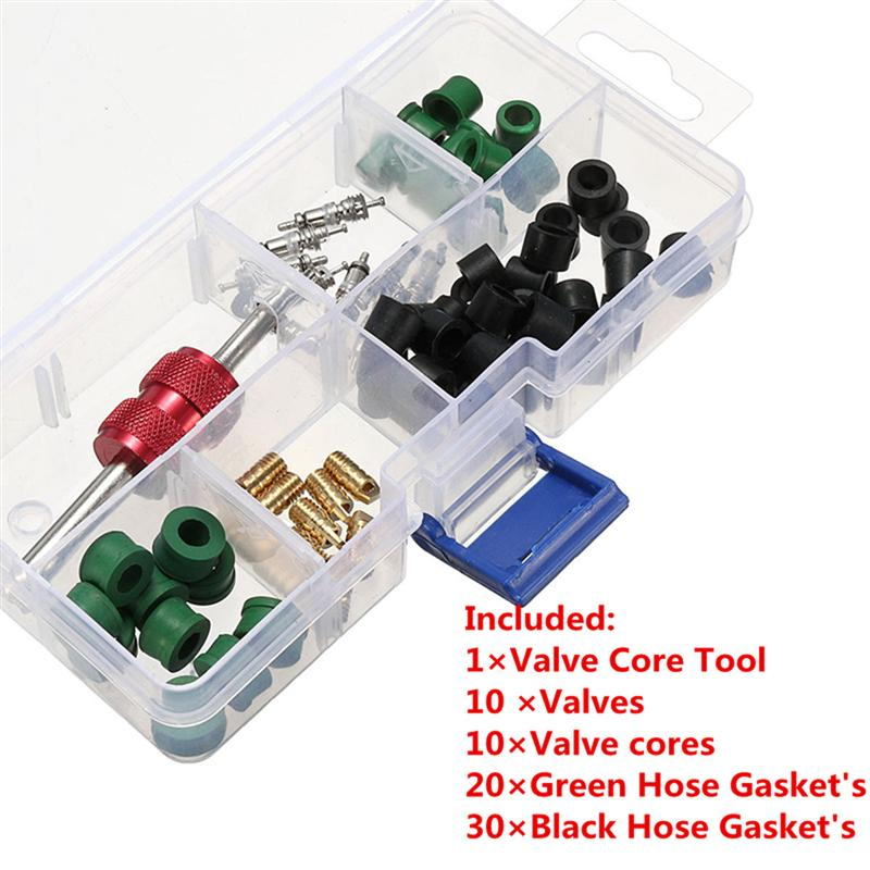 71pcs R134a Air Conditioning Hose Adapter