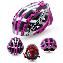 Q541 Free shipping Bicycle helmet riding cap girl ultra-light protective helmet-F612 integrated molded helmet