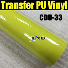 50X100CM/LOT heat transfer PU vinyl for cutting plotter machine using for shirts CDU-33 COLOR