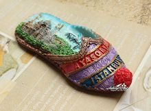 Turkey Istanbul Shoe Shaped Tourist Travel Souvenir 3D Resin Fridge Magnet GIFT IDEA(China)