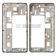Good New For Samsung Galaxy Note 4 SM-N910F N910 Middle Bezel frame Rear Housing Frame Part N910F Back Plate Housing