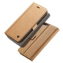 New Original WHATIF Brand Kraft Paper + leather Luxury Mobile Phone Case Accessories For Apple iphone 6plus 6splus Case JS0132(China)