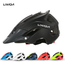 Lixada Outdoor Bicycle Helmets Ultralight In-Mold Road MTB Racing Helmet Cycling Motor Safety Protective Helmets Casco Ciclismo