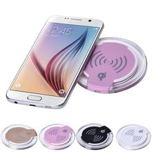 mokingtop Newest 5V 1000mA Qi Wireless Charger Charging Pad For Samsung Galaxy S6/S6 Edge Plus efficiency 73%(China)