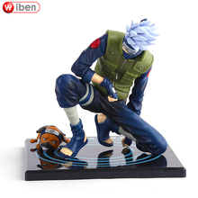 Anime Naruto Hatake Kakashi PVC 13cm Action Figure Collection Model Toy Doll Children Gift ACGN Brinquedos - AMoy WeiBen E-Commerce Co., Ltd. store