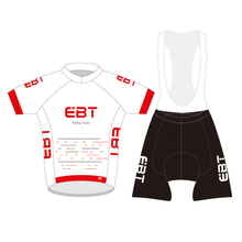 new style high quality 2017 DIY design EBT team Cycling Jersey Pro Team short Sleeve Clothing set(China)