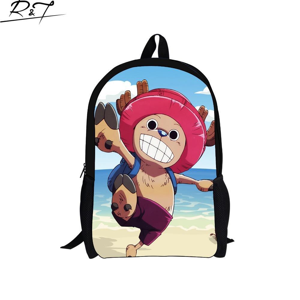 2016 New Arrival Hot Boys Girls Students Back To School Backpacks Cartoon Tony School Bag Anime Children Backpack<br><br>Aliexpress
