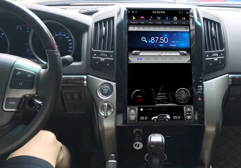Krando android car radio stereo navigation gps for toyota land cruiser 200 2008-2015 car dvd player multimedia system (3)