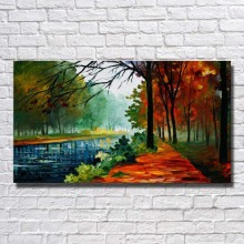 New Design  Living Room  Wall Pictures  Natural Scenery  Canvas  Painting  Home Decoration Wall Art  Knife Painting No Framed