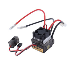 Oversea 320A 7.2V-16V High Voltage Brush ESC Speed Controller For 1/10 RC Car Truck Boat