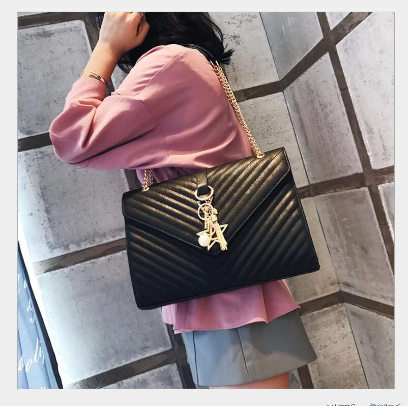 2018 European and American new design womens ys high quality brand name shoulder bag classic womens bag small shoulder bag<br>