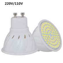 Super Bright GU10 LED Spotlight 4W 6W 8W 220V 110V Led Lamp GU 10 Lampada LED Bulb 36Led 54Led 72Led Energy Saving Home Lighitng