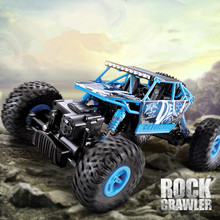 RC Car Q20 2.4G 4wD bigfoot Racing Car RC Rock Crawlers High Speed Remote Control Car Off-Road Model electric toy for best gifts(China)