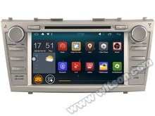 "8"" Quad Core Android 5.1.1 OS Special Car DVD for Toyota Camry 2007-2011 with External DAB+ Receiver Box Support"