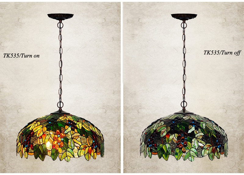 Tiffany hanging lamp light (15)