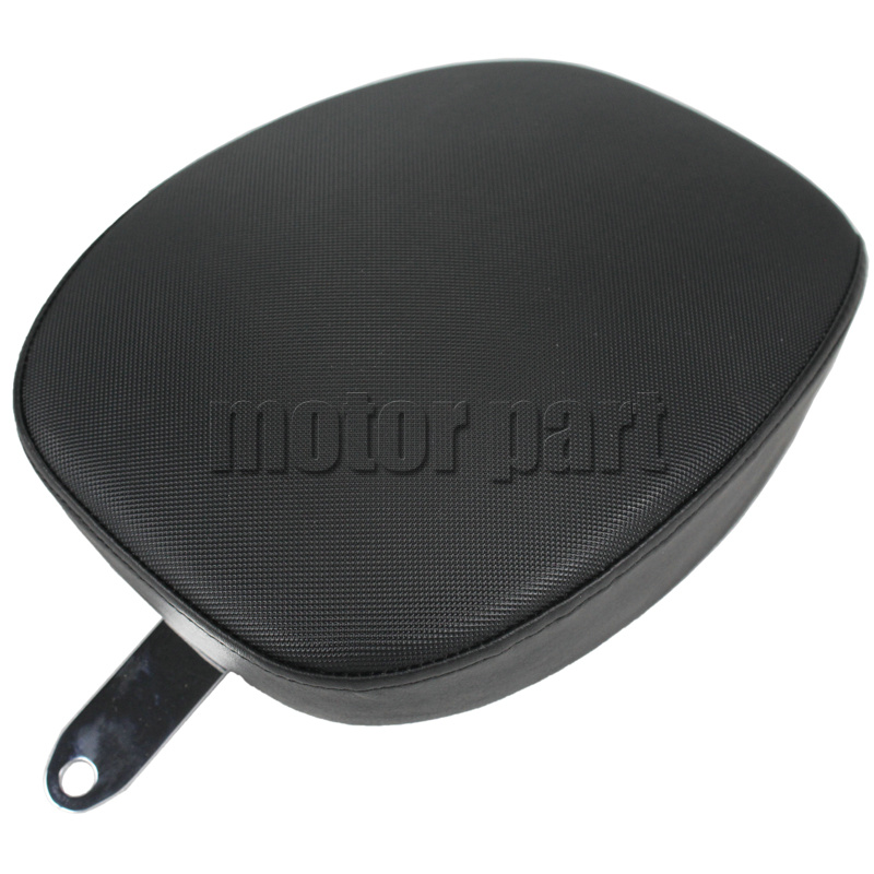 For 2010-2016 Harley Sportster XL 1200 883 72 48  Motorcycle Leather Passenger Pillon Rear Seat Black Color 10 12 13 14 15 16<br>