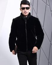 Buy Winter autumn thicken thermal leather jackets men casual mens faux fur coats overcoat stand collar black fashion plus size 3XL for $60.06 in AliExpress store