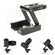 Folding Z Type Stand Holder Professional Tripod Kit Flex Tilt Head Pan Ball Head Folding Desktop Compatible Camera Camcorder(China)
