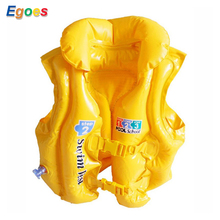 Egoes children pool swimming vest kids life jacket child save suit boys and girls cute cartoon inflatable swim vest(China)