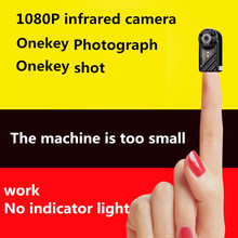 Miniature camera HD 1080P minimum Mini DV camera camera infrared night vision mobile video recorder stealth camera(China)