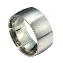 MMS 10mm Width Stainless Steel Ring,Big Fashion Titanium Steel Ring,Wholesale Jewelry Supplier
