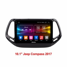 Android 6.0 Octa 8 Core 2GB RAM+32GB ROM Car DVD Player For Jeep Compass 2017 GPS Navigation Radio Stereo 4G SIM WiFi(China)