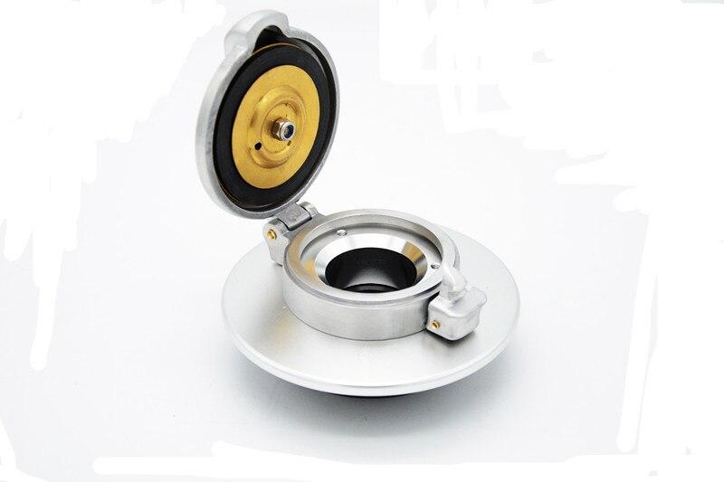 fuel cap silver