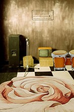 200cm*150cm(6.5ft*5ft) Retro Musical Instruments TV drum drawing floor backdrosp photography props background studio 3991