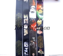 Free Shipping 300 Pcs Popular Star Wars Key Chains  Mobile Phone Neck Straps Keys Camera ID Card Lanyard  xt22