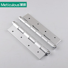 Meticulous 7 Inch 180mm door HINGES  RATED Self Closing Single Action Adjustable Spring BUTT HINGES matte 4mm thickness ALUMINUM